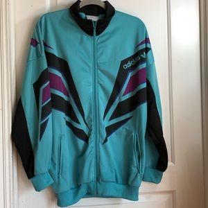 Vintage 90's Adidas Track Suit Jacket Oversize